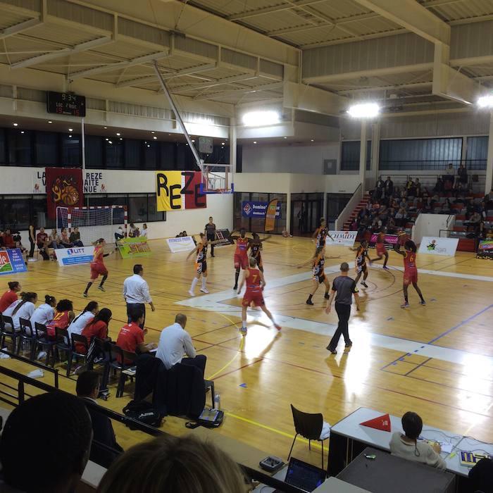 8 - Match de Basket féminin BCSP de Rezé 1