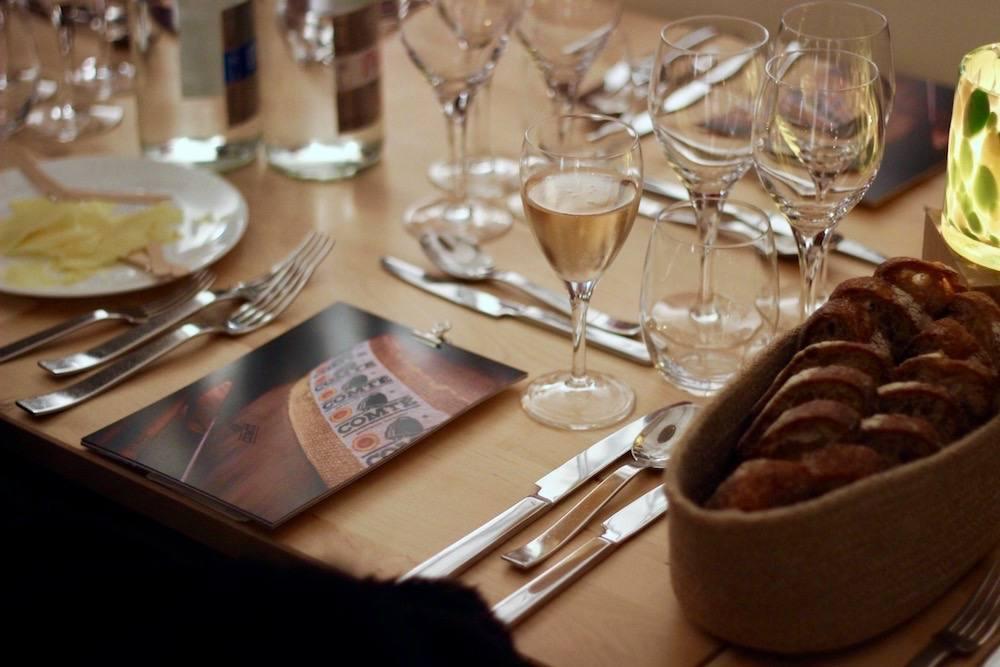 La Table du Comté - Atelier Bayard Nantes - Dominic Quirke et Sylvain Guillemot 1