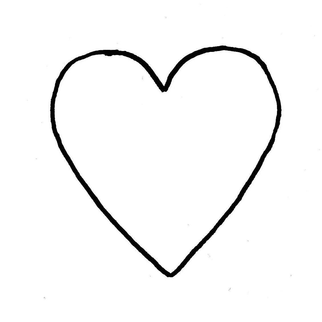 Patron coeur nolwenn c blog nantes - Dessin en forme de coeur ...