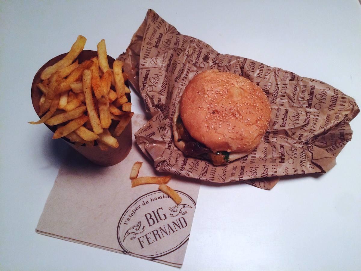 2 - Big Fernand - Meilleur burger nantes