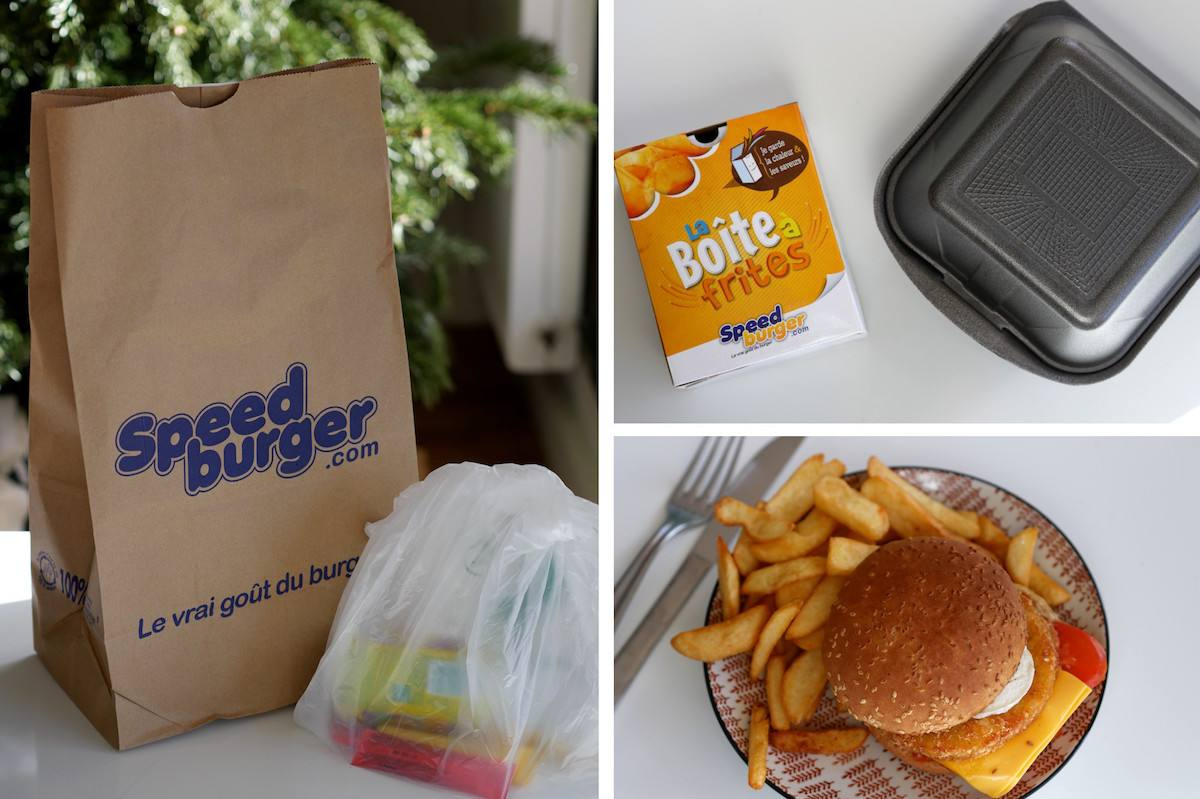 8 - Speed burger - Meilleur burger nantes