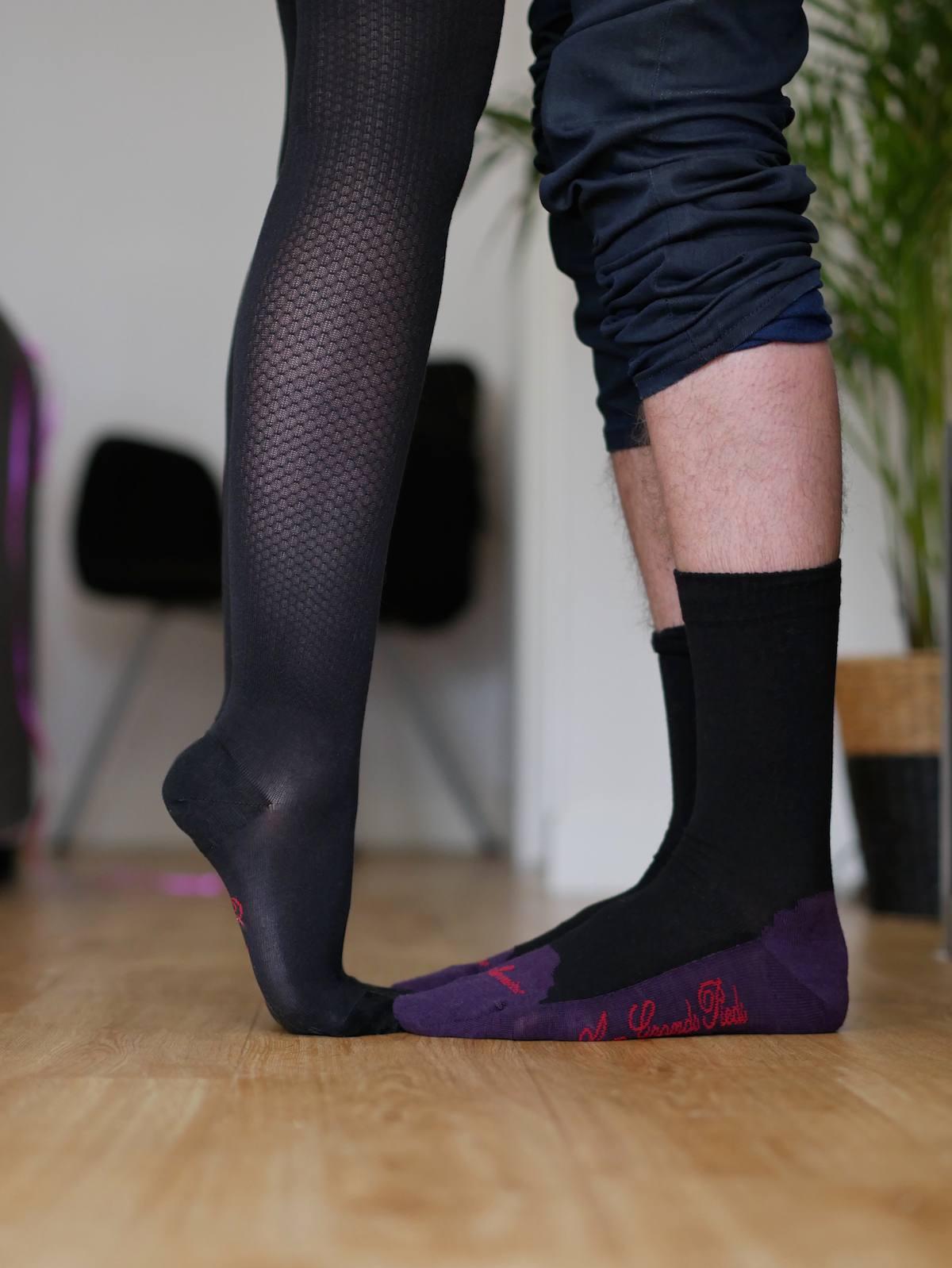 Berthe aux grands pieds Nantes - Chausettes bas collants 1