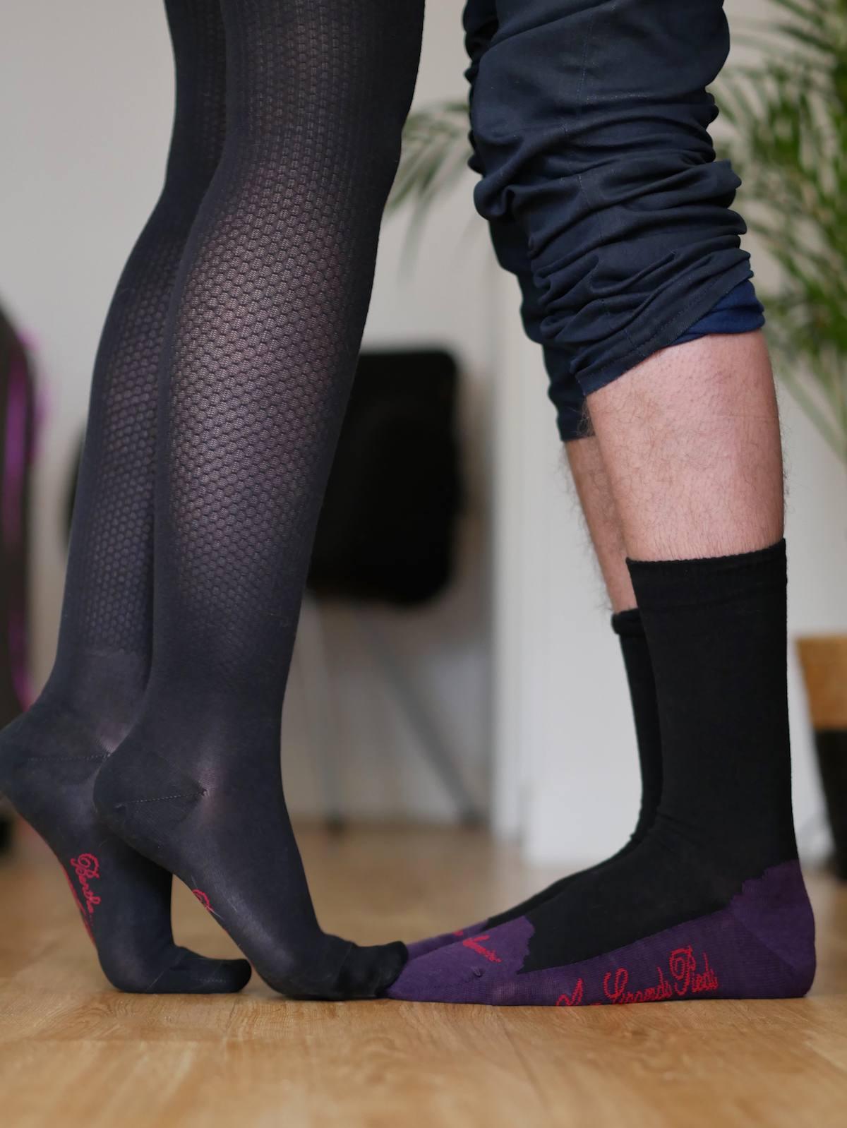 Berthe aux grands pieds Nantes - Chausettes bas collants 4