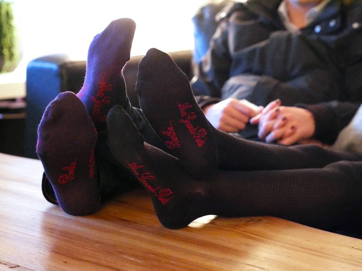 Berthe aux grands pieds Nantes - Chausettes bas collants 8