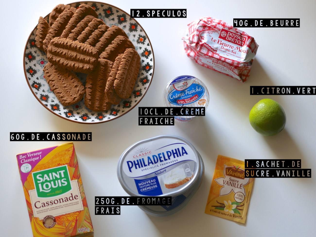 Recette Cheesecake Spéculos - Nolwenn C 2