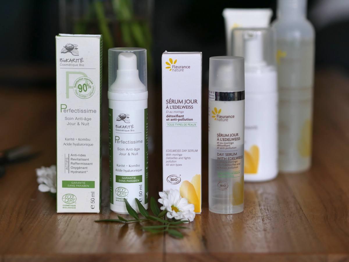 Routine soin 100% bio - Fleurance Nature - Yves Ponroy - Blog Beauté Nantes 1