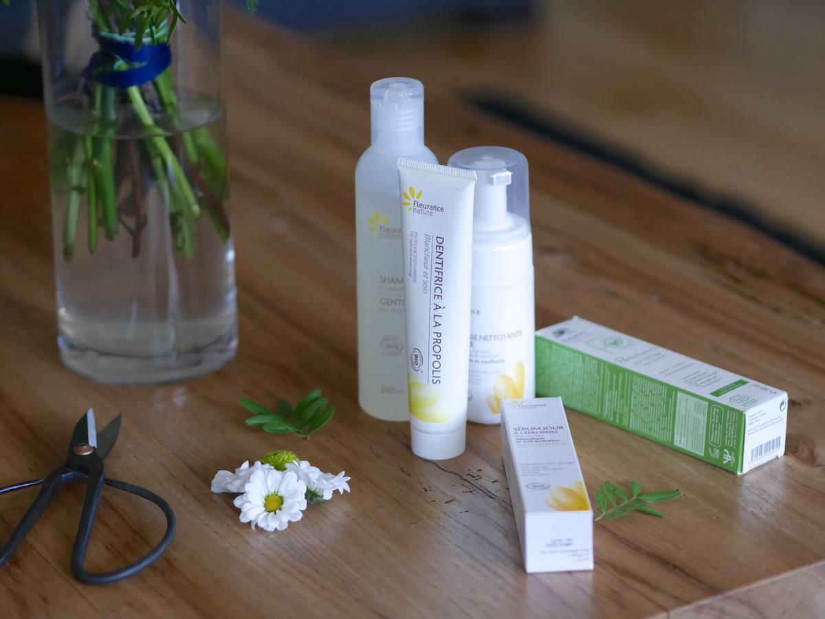 Routine soin 100% bio - Fleurance Nature - Yves Ponroy - Blog Beauté Nantes 5