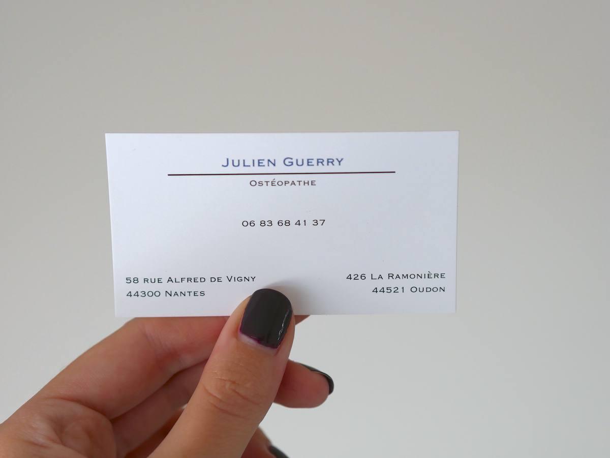 Julien GUERRY - Ostéopathe Nantes