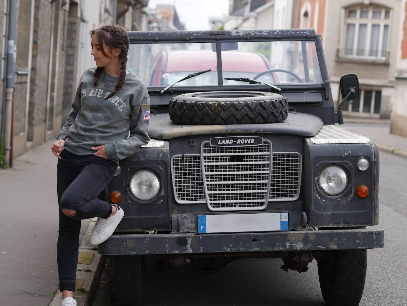 blogueuse de mode - pull camouflage army 10