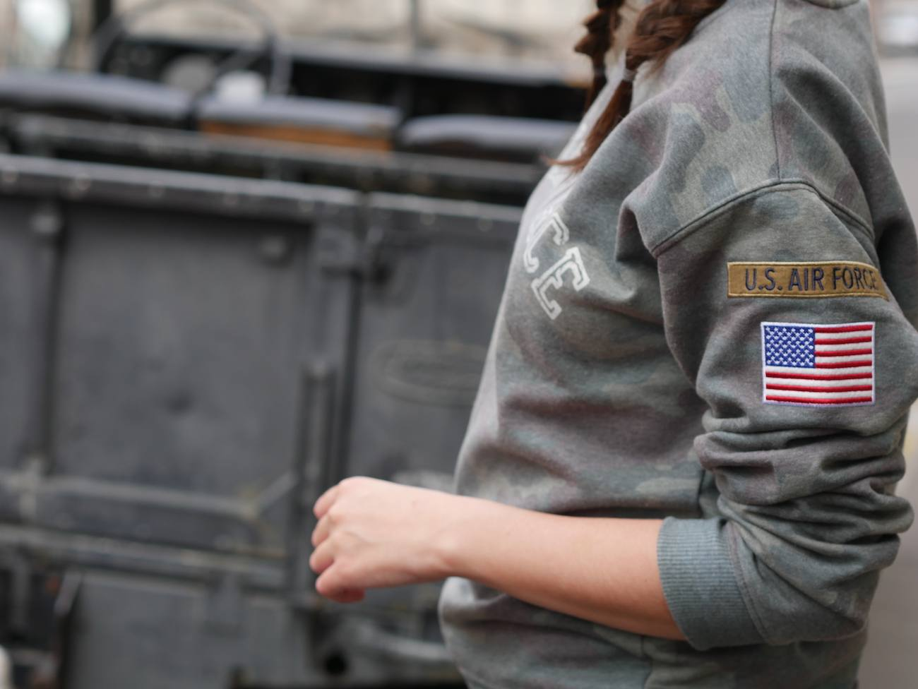 blogueuse de mode - pull camouflage army 6