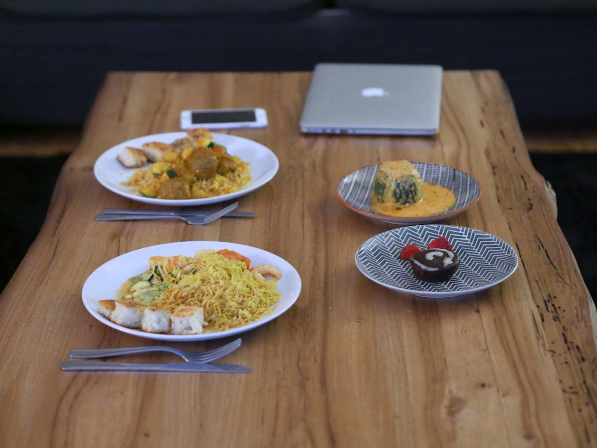 10 things 9 - Deliveroo Ariana restaurant Afghan Nantes