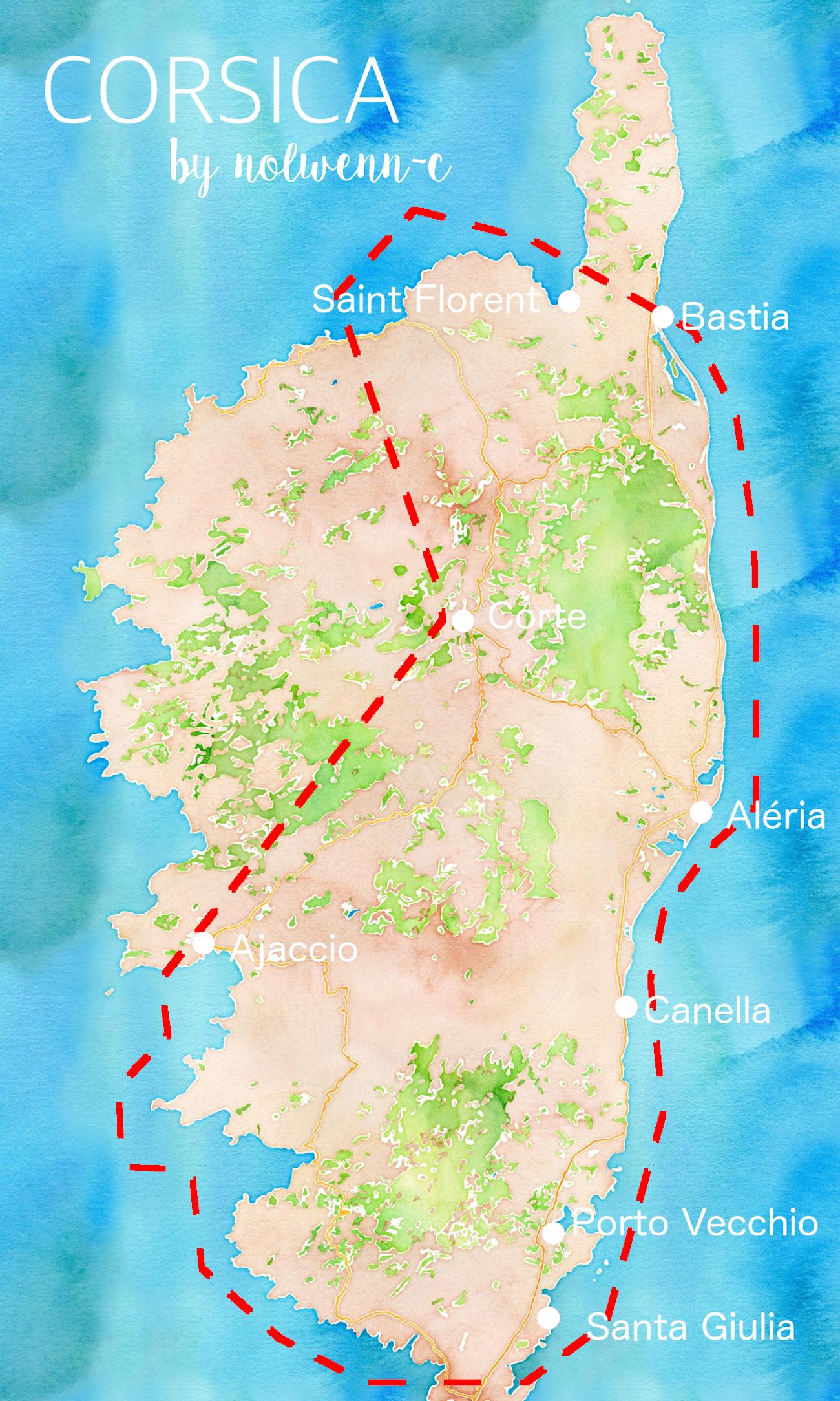 Corse - Road trip bonnes adresses - Blog Voyage nantes 2